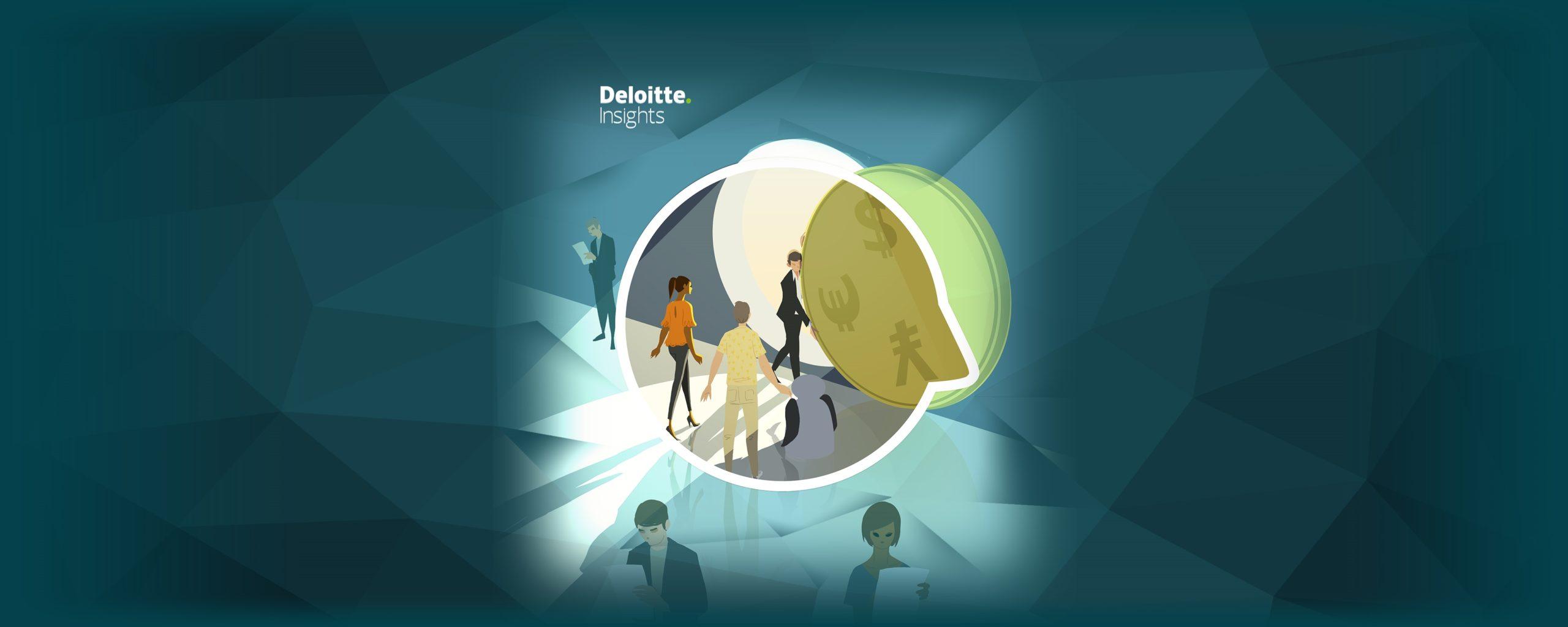 Matthieu Forichon illustration for Deloitte